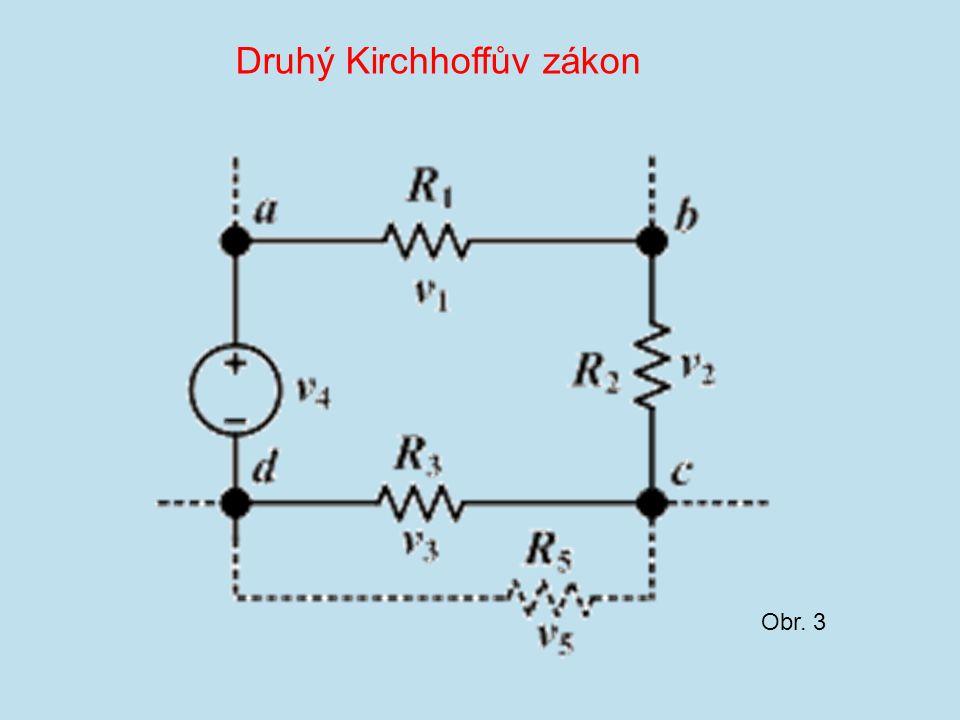 Obr. 3 Druhý Kirchhoffův zákon