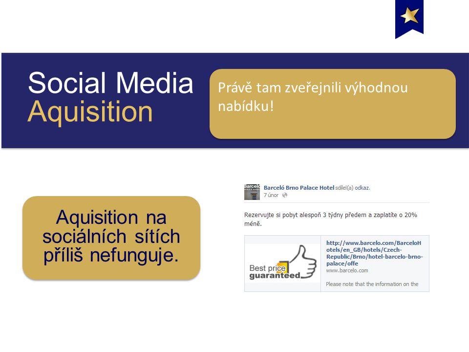 Social Media Aquisition Právě tam zveřejnili výhodnou nabídku.