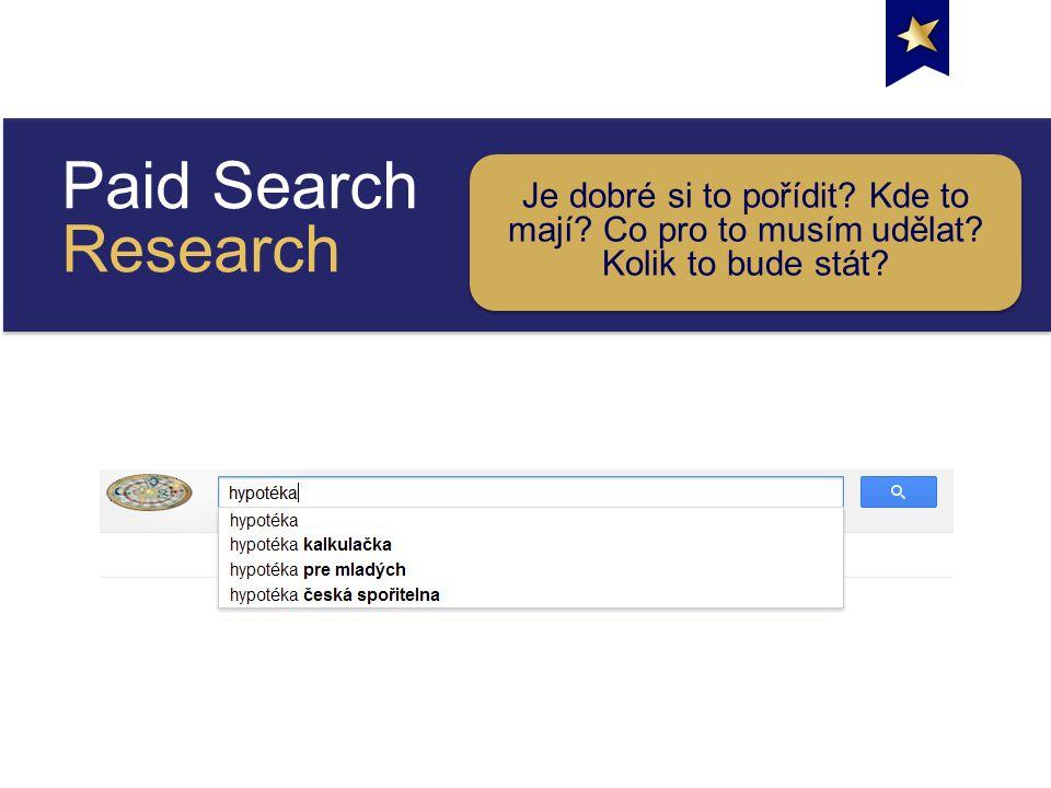 Paid Search Research Je dobré si to pořídit. Kde to mají.