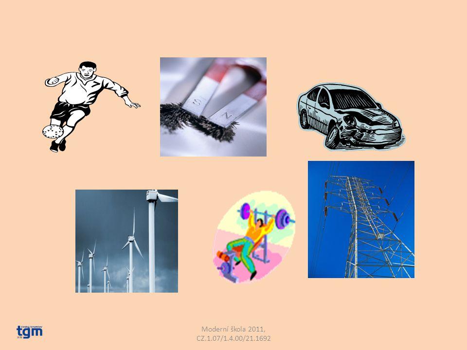 Co je to síla? Zkus vymyslet vlastní definici: Moderní škola 2011, CZ.1.07/1.4.00/21.1692