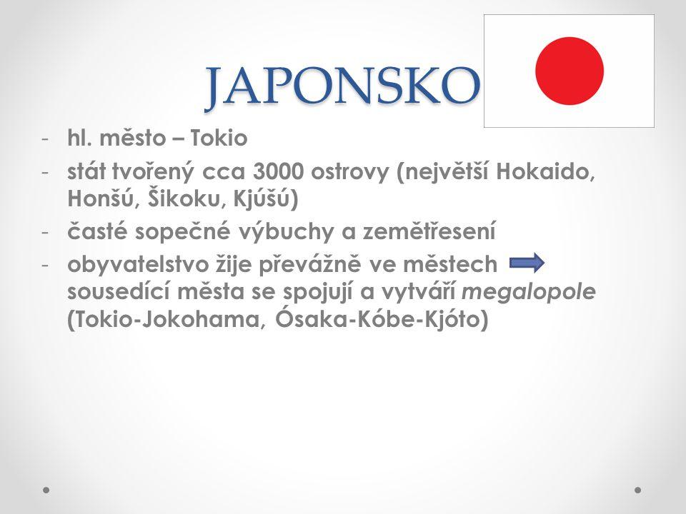 JAPONSKO - hl.