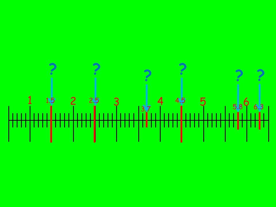 1 2 3 4 56 ? 1.5 ? 2.5 ? 3.7 ? 4.5 ? 5.8 ? 6.3