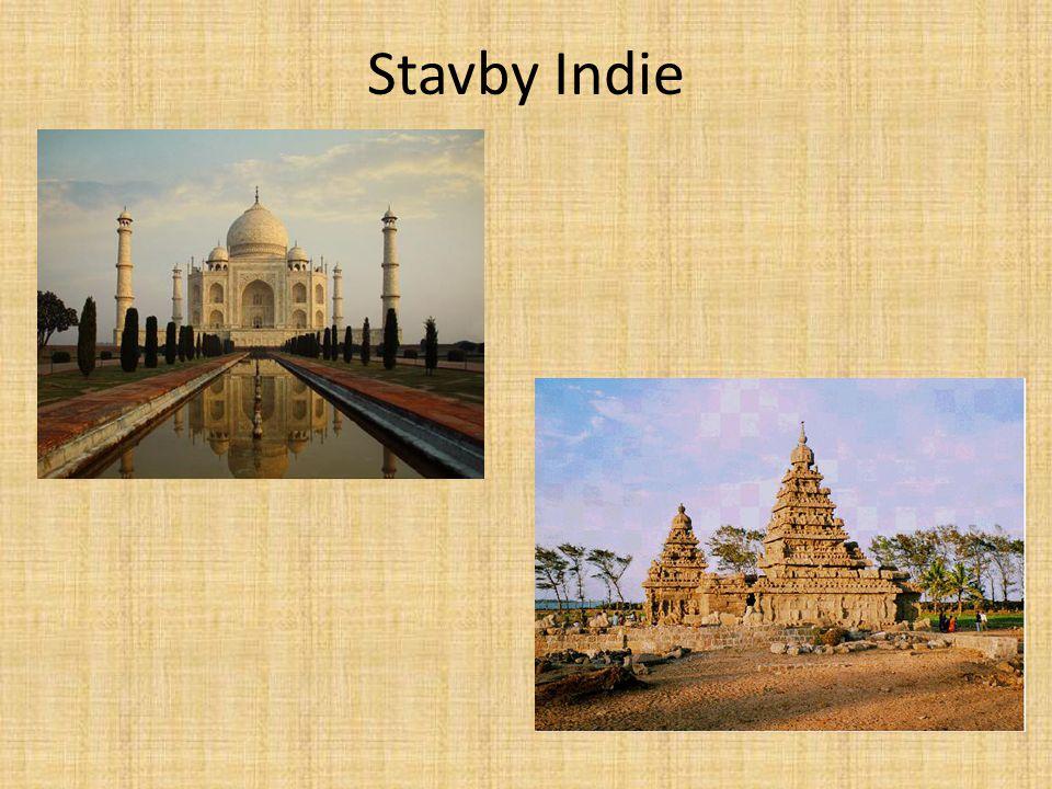 Stavby Indie