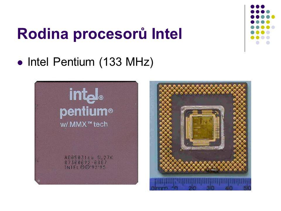Rodina procesorů Intel Intel Pentium (133 MHz)