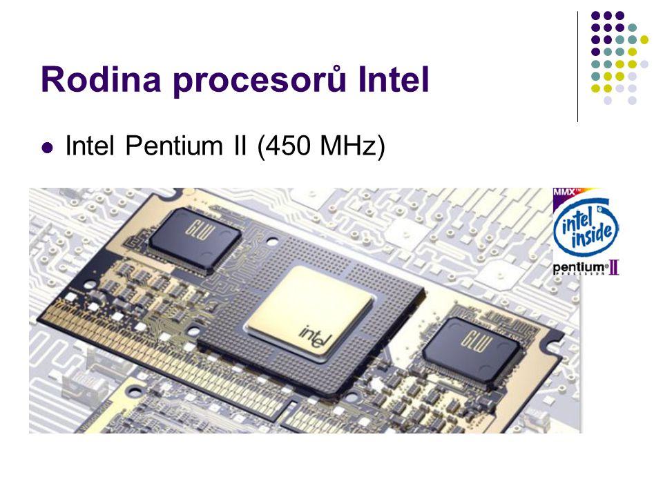 Rodina procesorů Intel Intel Pentium II (450 MHz)