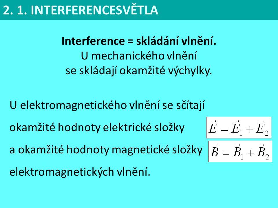 Koherentní vlnění jsou světelná vlnění stejné frekvence, jejichž vzájemný fázový rozdíl v uvažovaném bodě prostoru se s časem nemění.