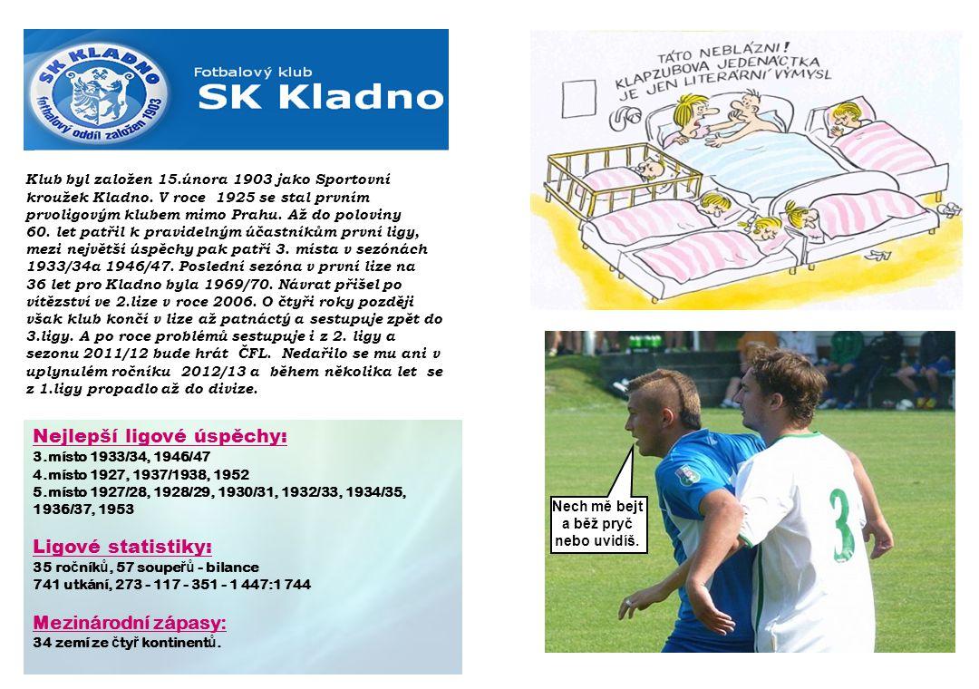 Klub byl založen 15.února 1903 jako Sportovní kroužek Kladno.