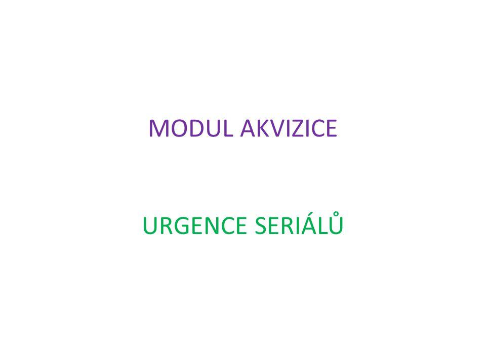 Urgence Urgence jsou obvykle posílány dodavateli, pokud není u něj objednaný dokument dodán v očekávaném čase.