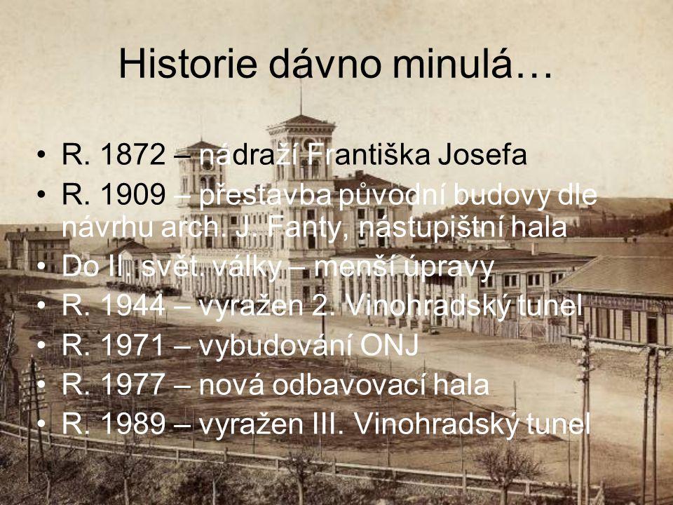 Ostatní stavby Objekt pro výpravčí na 3.