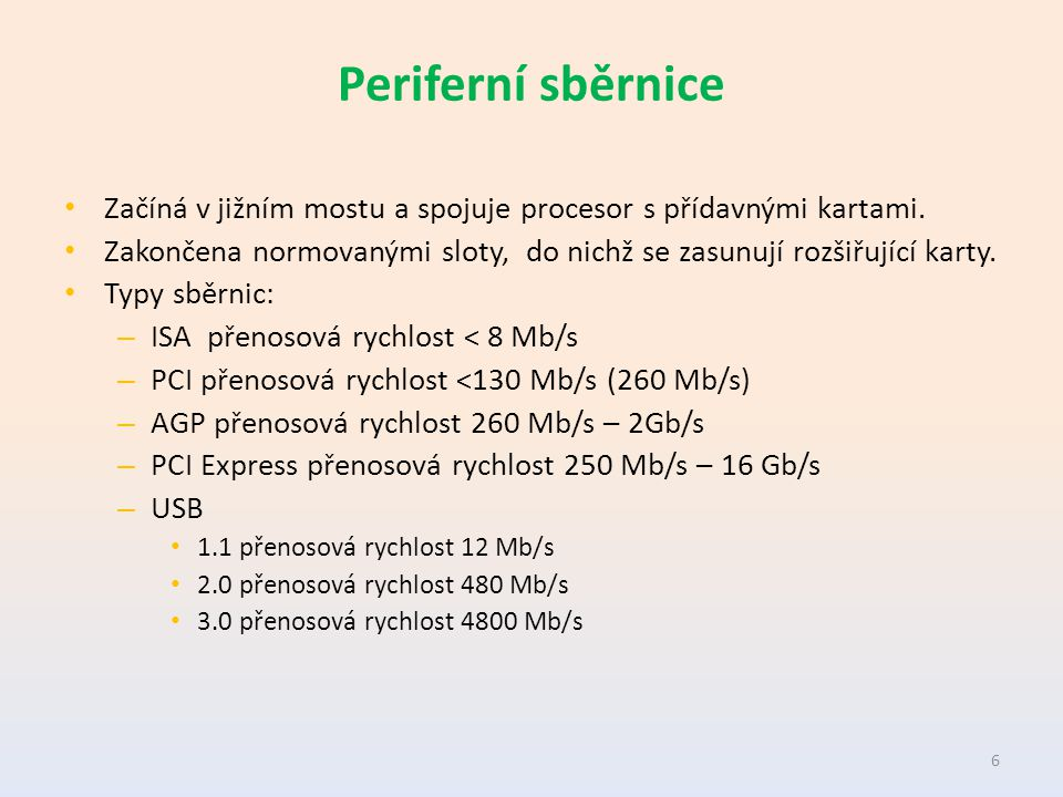 Sběrnice ISA Industry Standard Architecture.Vyvinuta pro mikroprocesor 286 a počítače PC-AT.