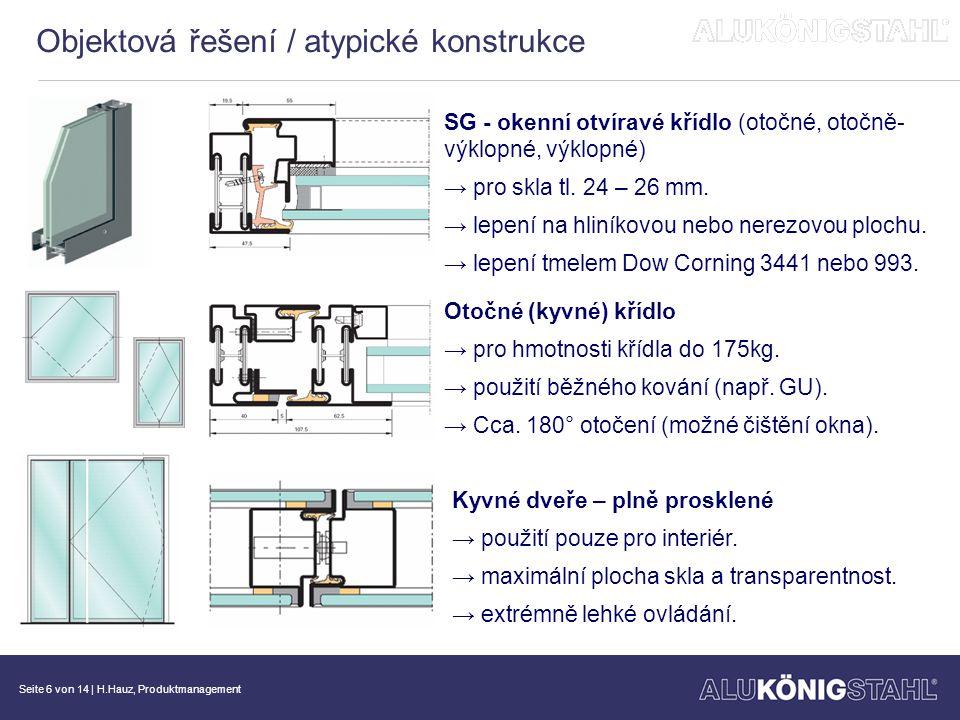 Seite 7 von 14   H.Hauz, Produktmanagement Jansen-bimetalová-destička → uzavírací funkce jen v případě požáru.