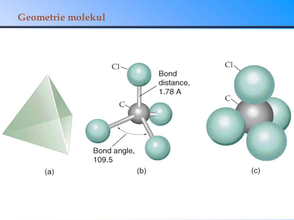 Geometrie molekul