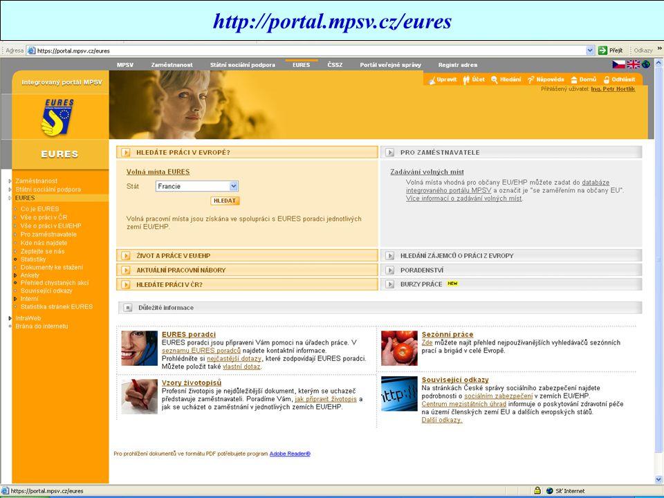 http://portal.mpsv.cz/eures