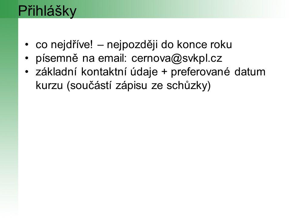 Děkuji za pozornost cernova@svkpl.cz