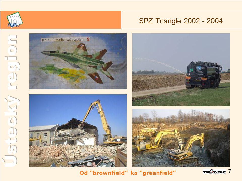 "7 SPZ Triangle 2002 - 2004 Od ""brownfield"" ka ""greenfield"""