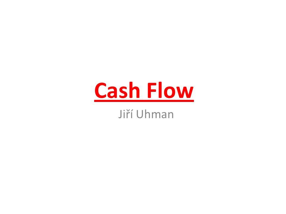 Cash Flow Jiří Uhman