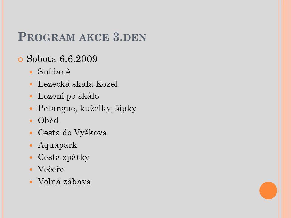 P ROGRAM AKCE 3.