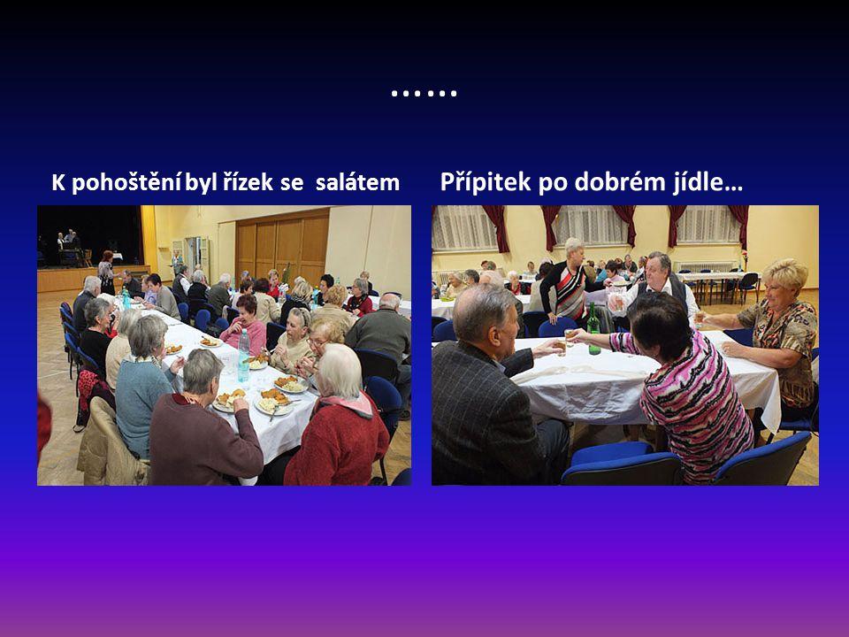 Příprava občerstvení Pomáhající členové klubu Zapojila se také Ing. Kalná