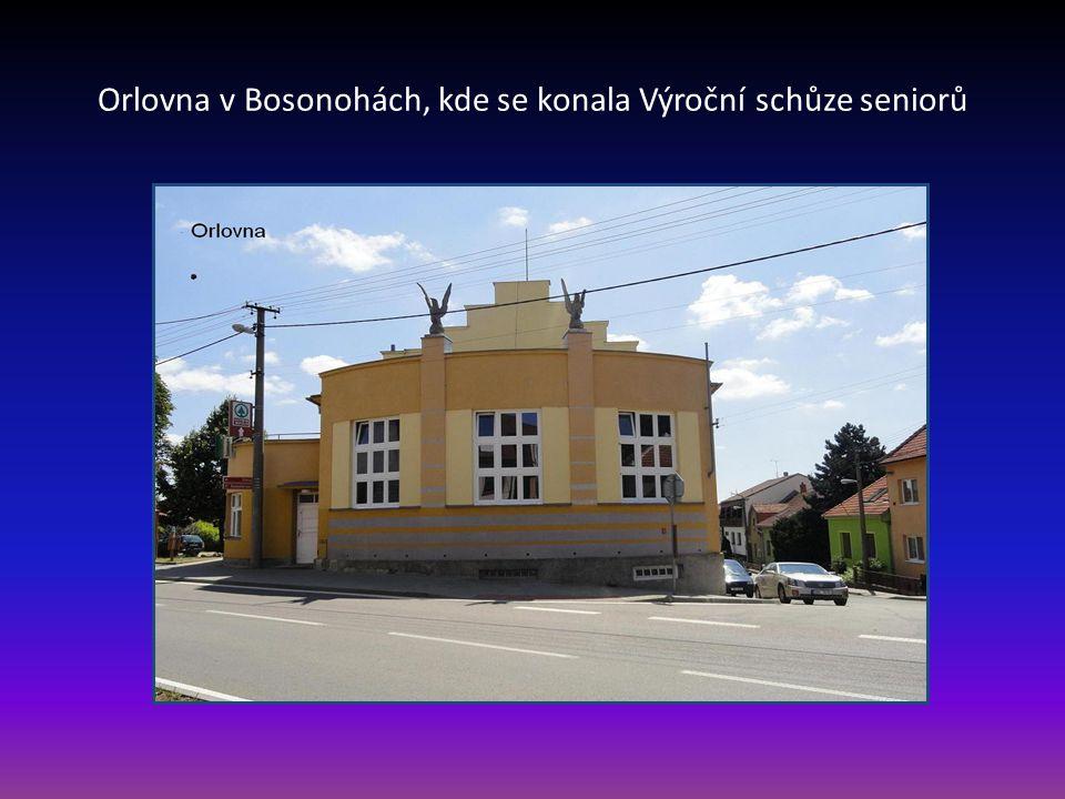 Městská část, ve které byl založen 17.3. 1995 Klub důchodců