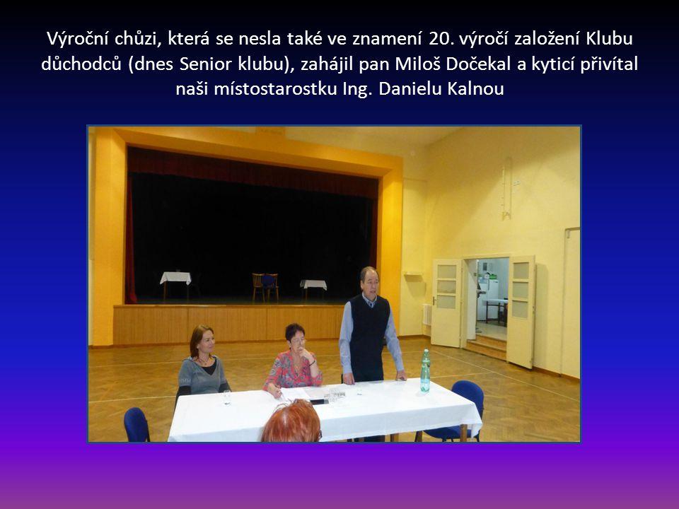 Orlovna v Bosonohách, kde se konala Výroční schůze seniorů