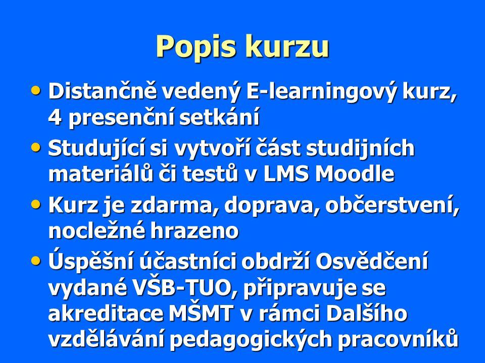 Co by měl tedy autor e-learningového studijního materiálu: Umět vytvořit pro studenta atraktivní materiál (2.7.7) Umět vytvořit pro studenta atraktivní materiál (2.7.7) Umět psát čtivě (2.7.2) Umět psát čtivě (2.7.2) Motivovat žáka ke studiu (2.7.6, 2.9) Motivovat žáka ke studiu (2.7.6, 2.9) Vytvářet materiál interaktivní (1.5) Vytvářet materiál interaktivní (1.5) Ujednotit si s kolegy standardy materiálu (2.7.1) Ujednotit si s kolegy standardy materiálu (2.7.1)