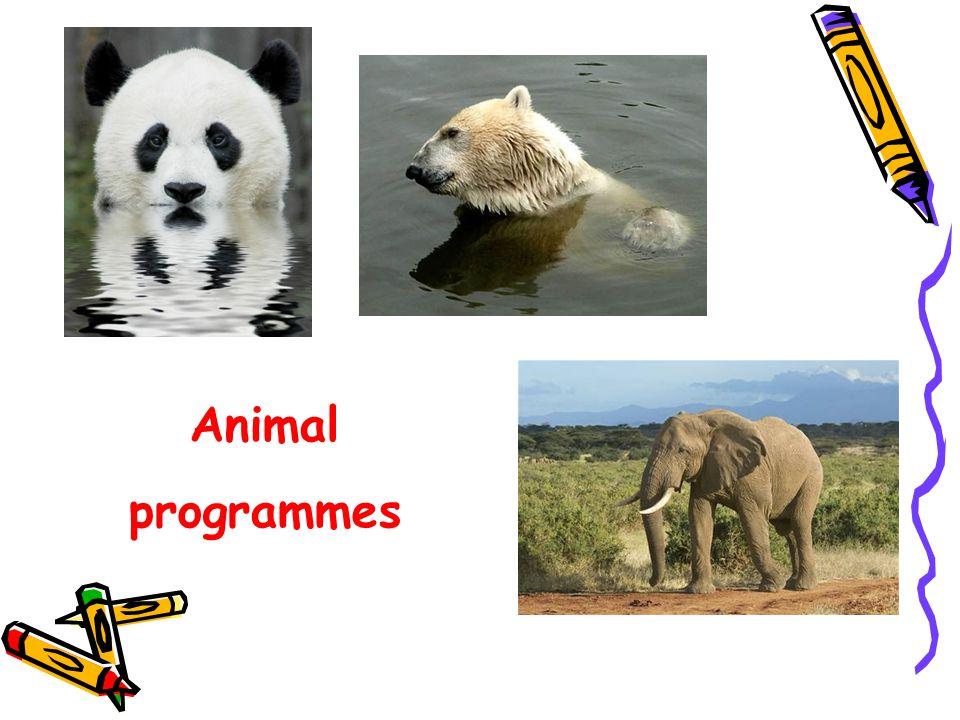 Animal programmes