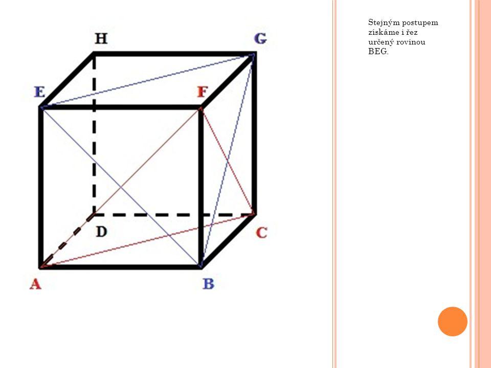 Pro nalezení průsečnice je potřeba určit alespoň dva body, které jsou společné pro dané roviny.