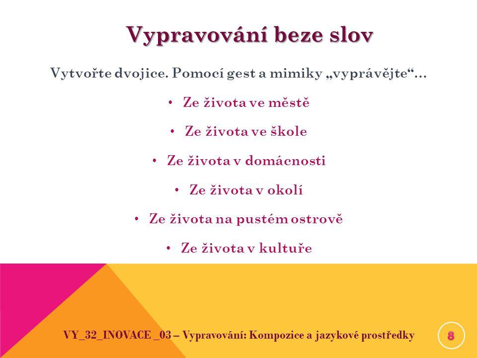 Použitá literatura Martinková, Věra Martinková, Věra: Český jazyk 1.