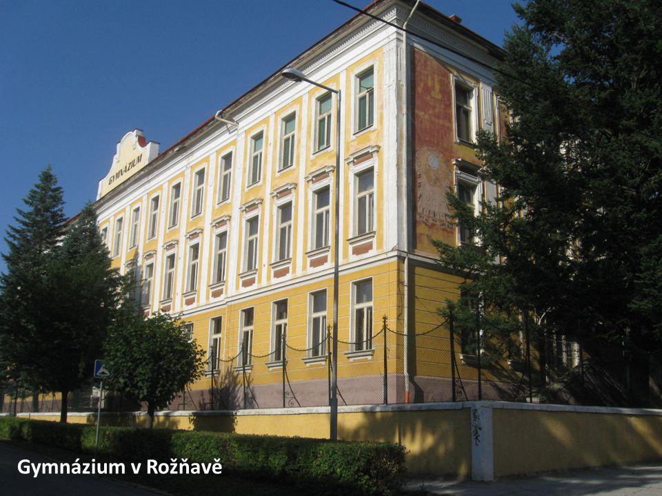 Gymnázium v Rožňavě