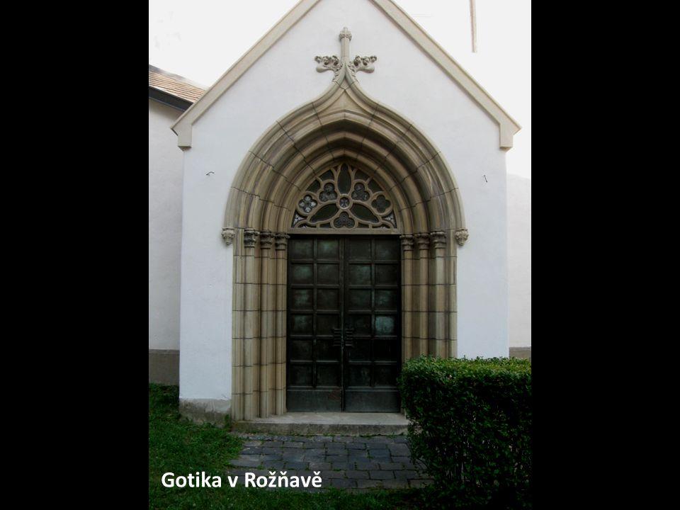 Gotika v Rožňavě