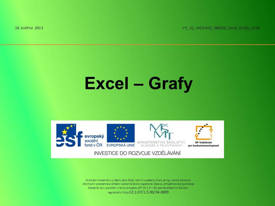 Excel – Grafy 18.