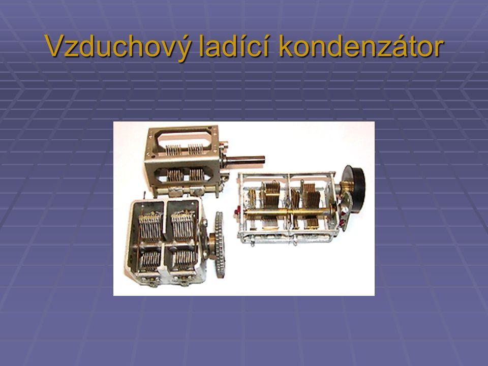 Vzduchový ladící kondenzátor