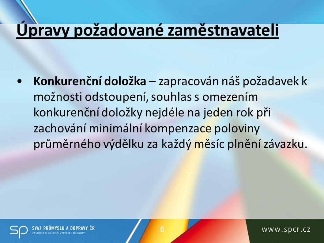 Doporučení k předloženým variantním návrhům Neplatnost právních úkonů Navrhujeme novou Variantu.