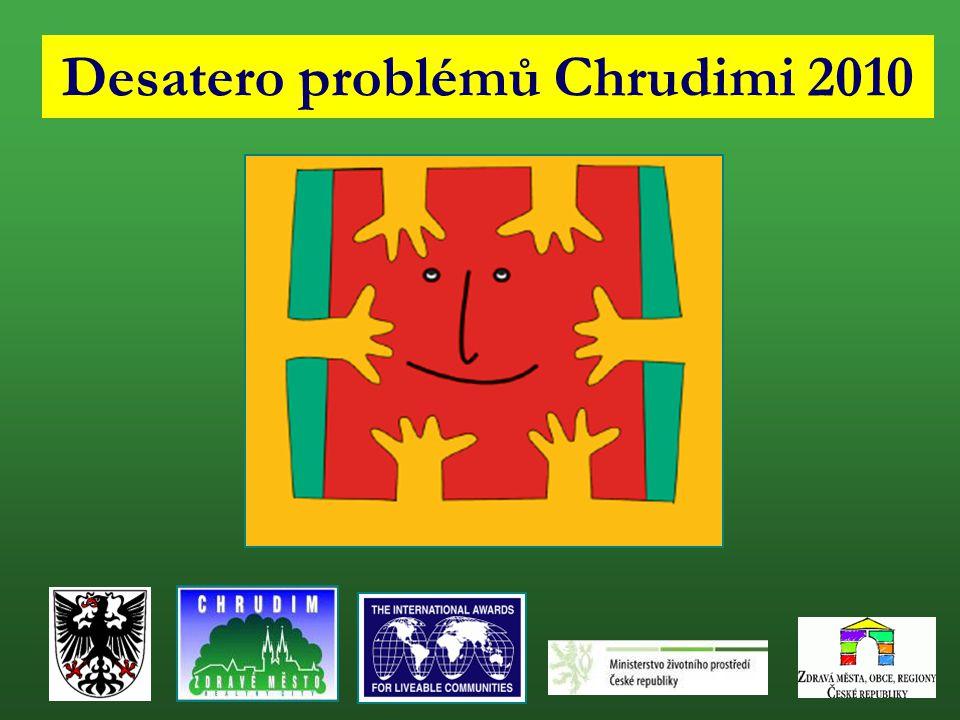 Desatero problémů Chrudimi 2010