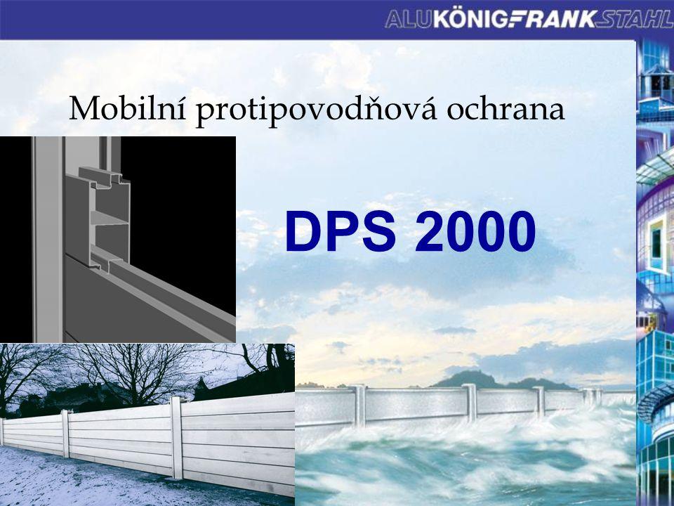 Mobilní protipovodňová ochrana DPS 2000