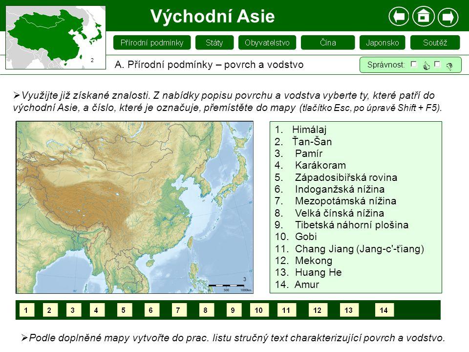 Východní Asie A.