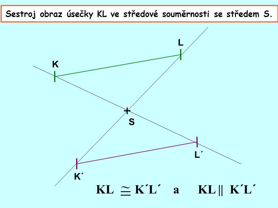 U středové souměrnosti se stejně jako u osové naučíme sestrojovat obrazy bodů, úseček, trojúhelníků, obdélníků i jiných útvarů. Sestroj obraz bodu A v
