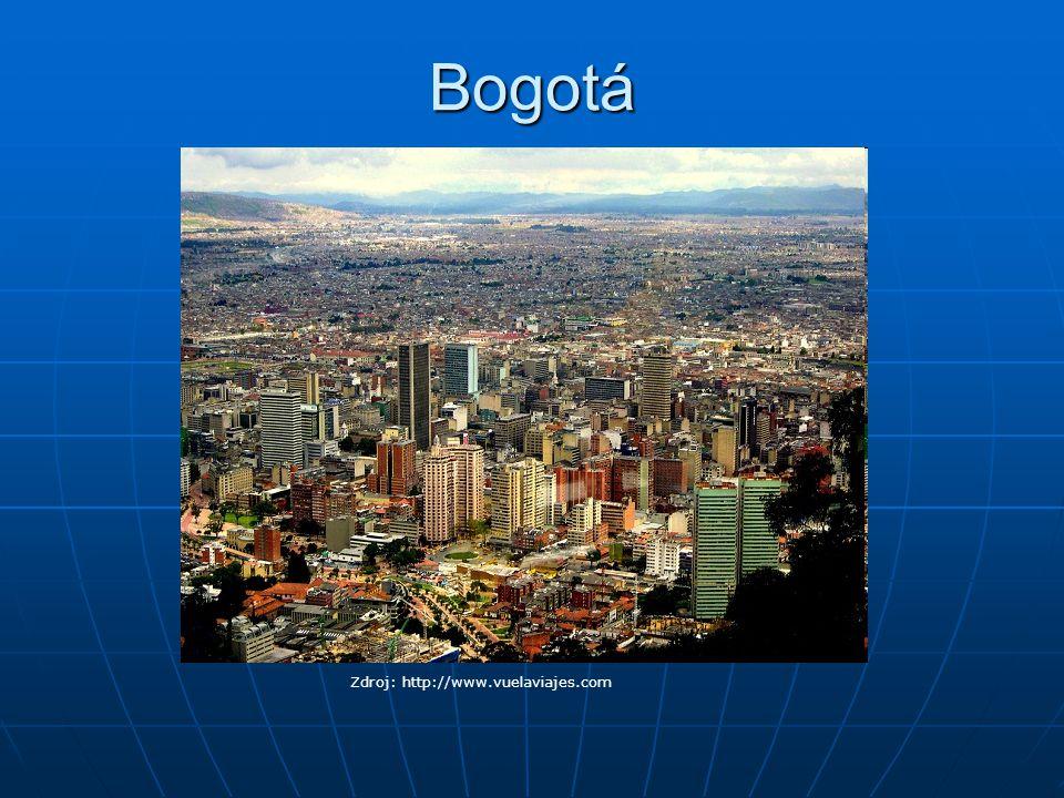 Bogotá Zdroj: http://www.vuelaviajes.com