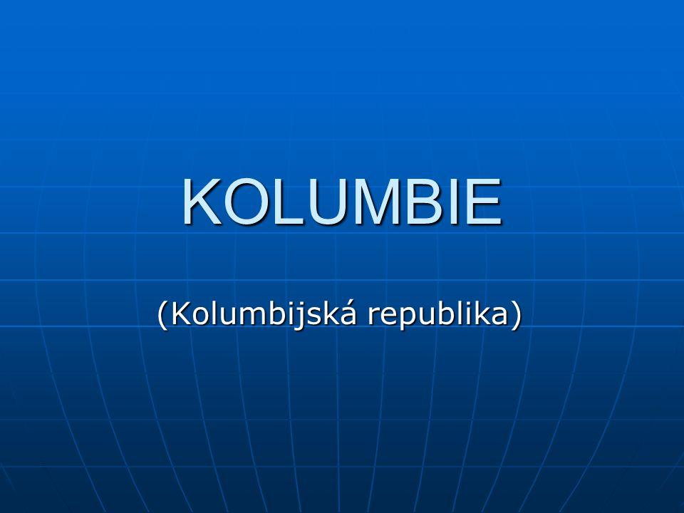 KOLUMBIE (Kolumbijská republika)