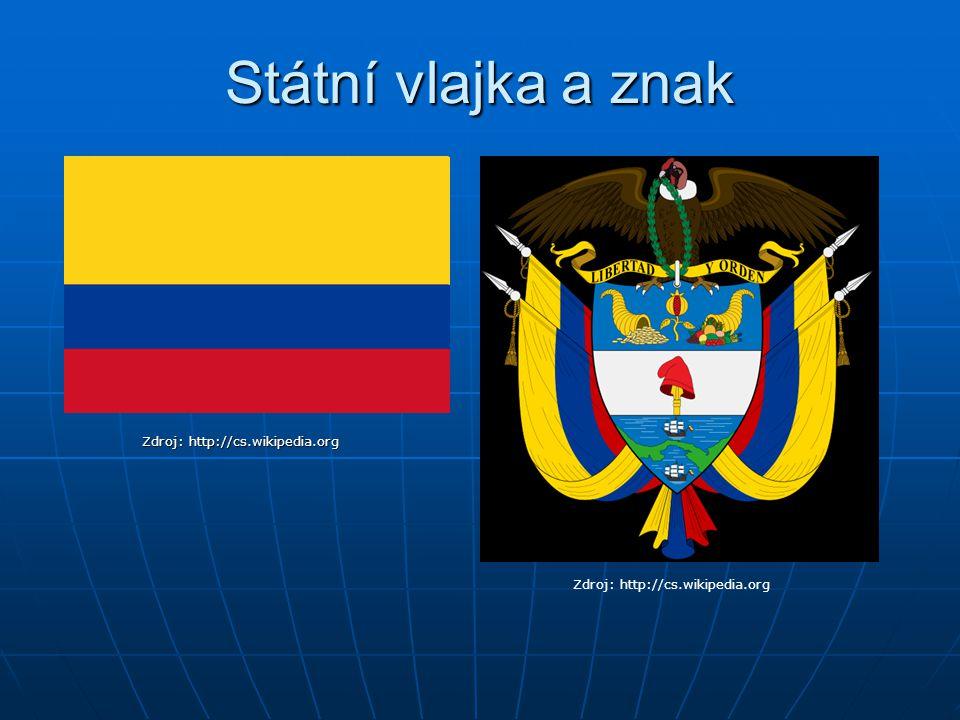 7. Kde v Kolumbii žije nejvíce obyvatel? a) U Darienského zálivu b) V Andách c) V Amazonii