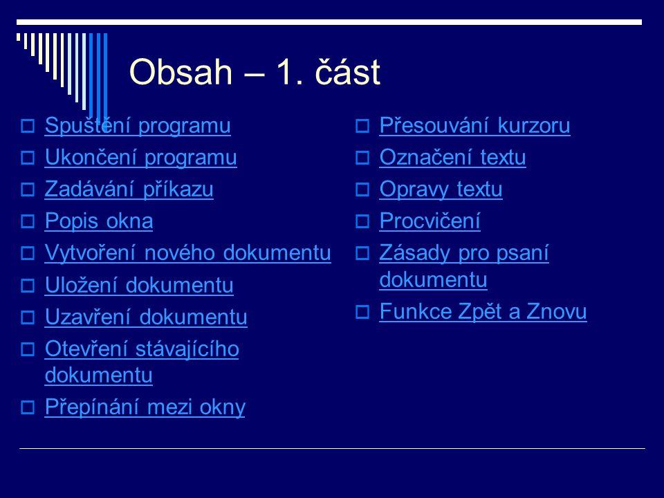 Obsah – 2.