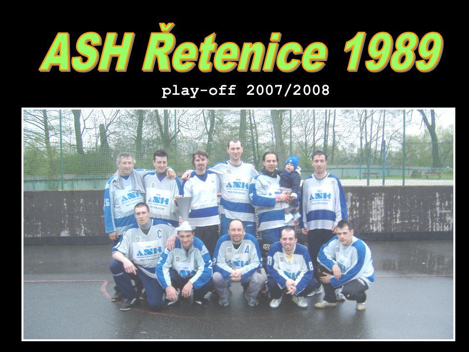 ASH Řetenice 19893.zápas - 19.dubna 2008 play-off 2007/08 11.část - hráči jiných týmu slavili ASH Dědek - Žízeň Dolly - Berla Vlastík - Žízeň