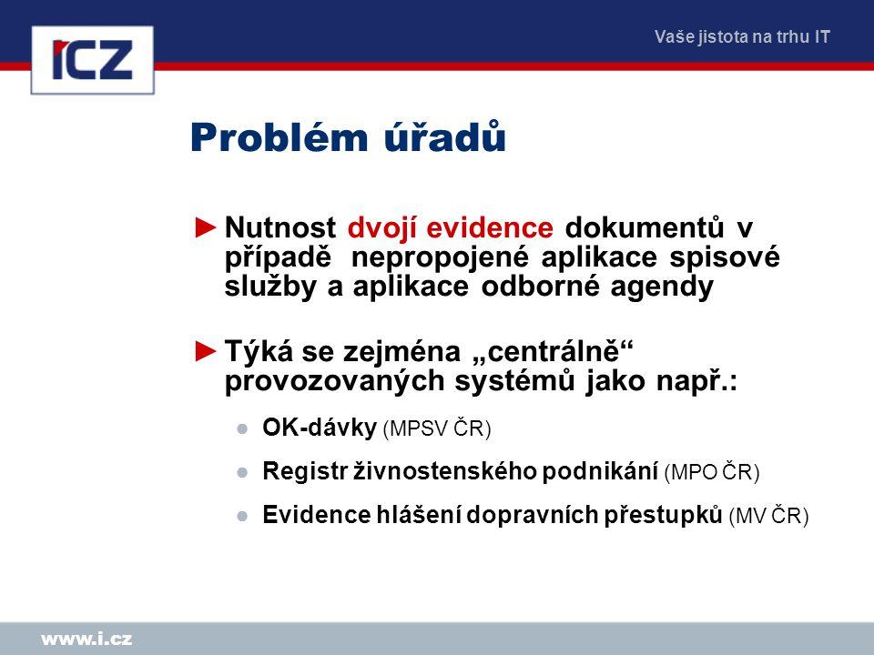 Vaše jistota na trhu IT www.i.cz Já se z toho zblázním … Mgr.