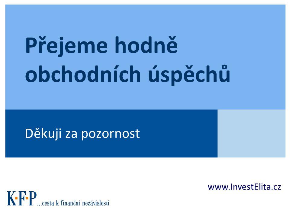 Přejeme hodně obchodních úspěchů Děkuji za pozornost www.InvestElita.cz