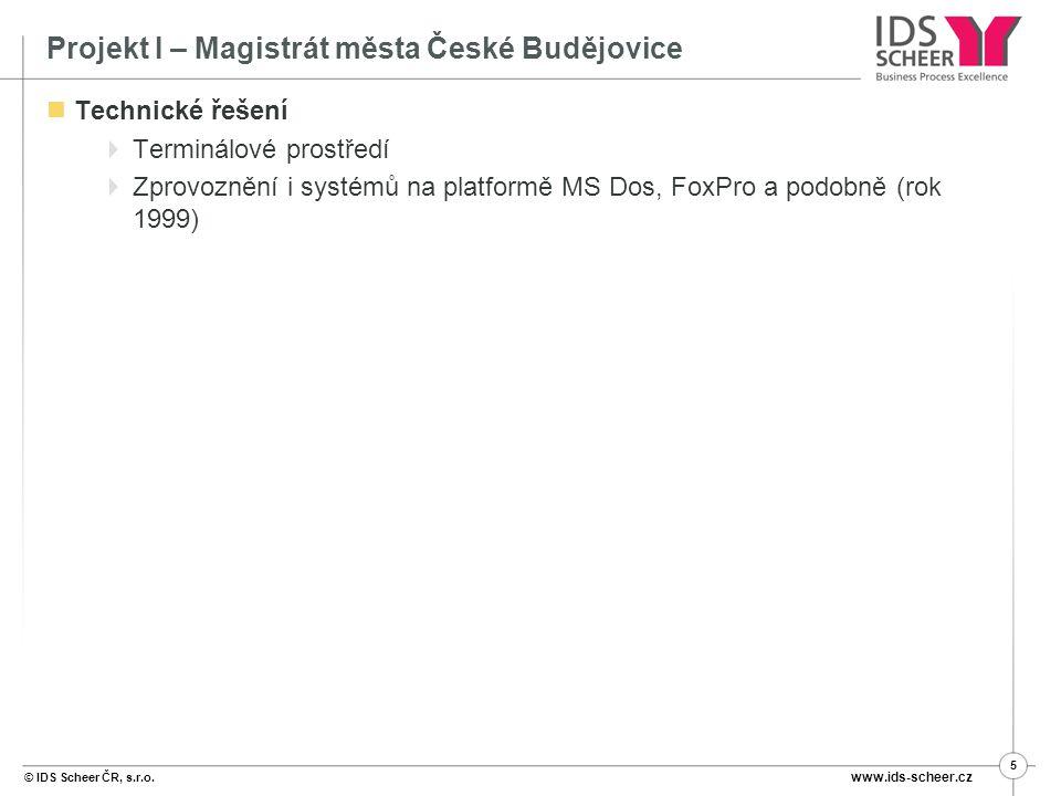 © IDS Scheer ČR, s.r.o.