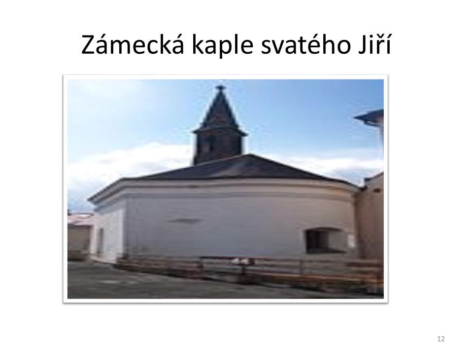 Zámecká kaple svatého Jiří 12
