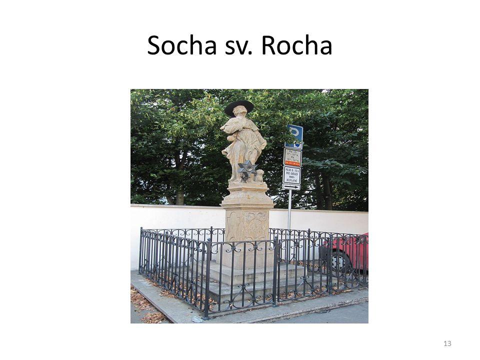 Socha sv. Rocha 13