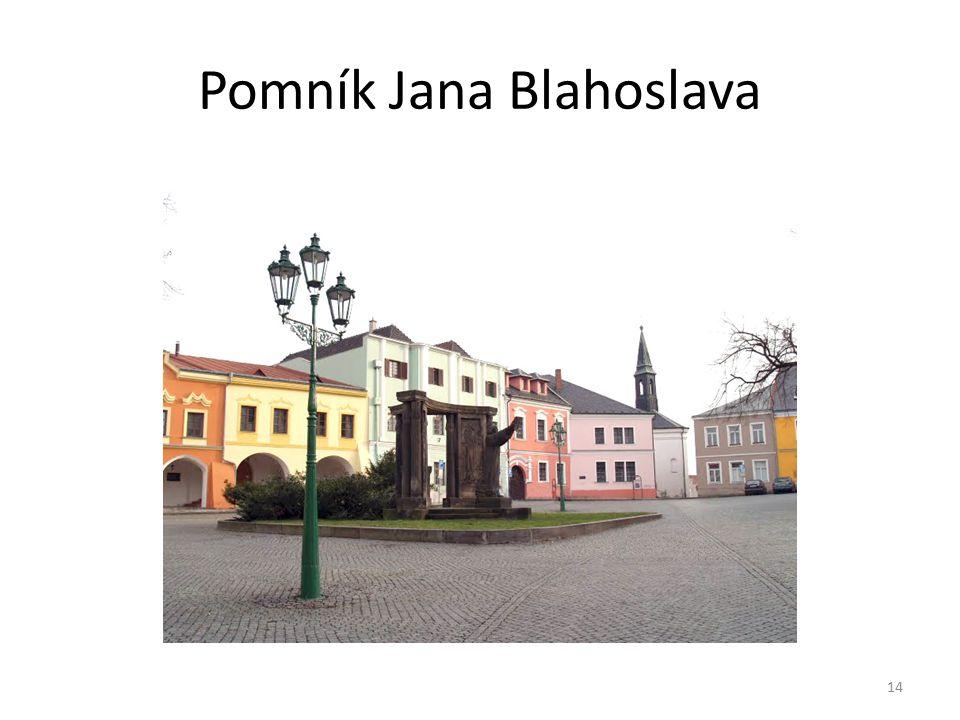 Pomník Jana Blahoslava 14