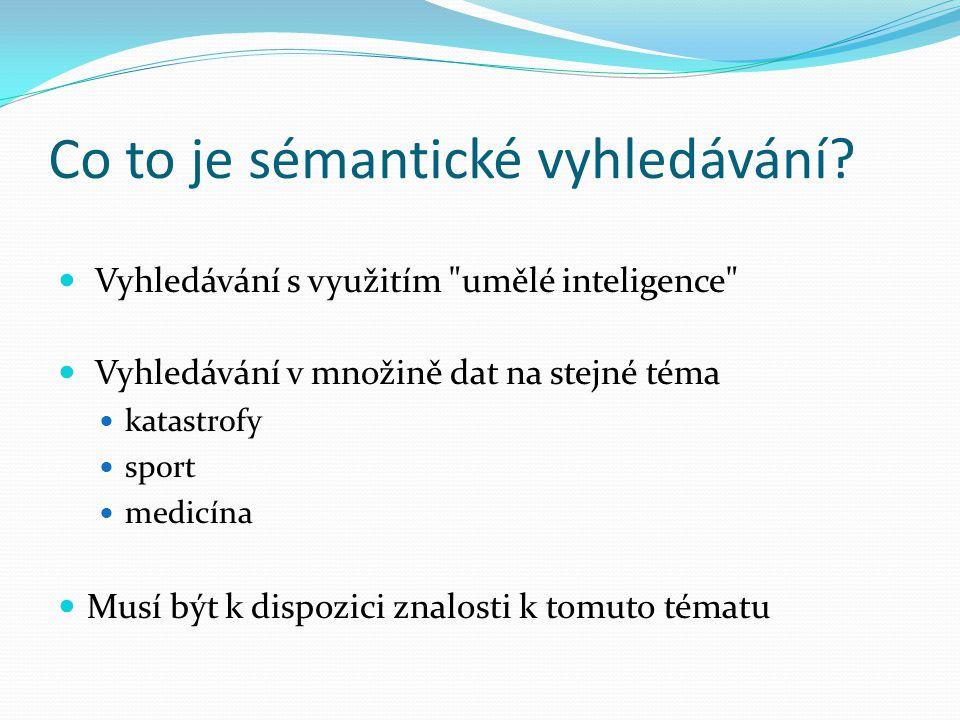 Co to je sémantické vyhledávání? Vyhledávání s využitím
