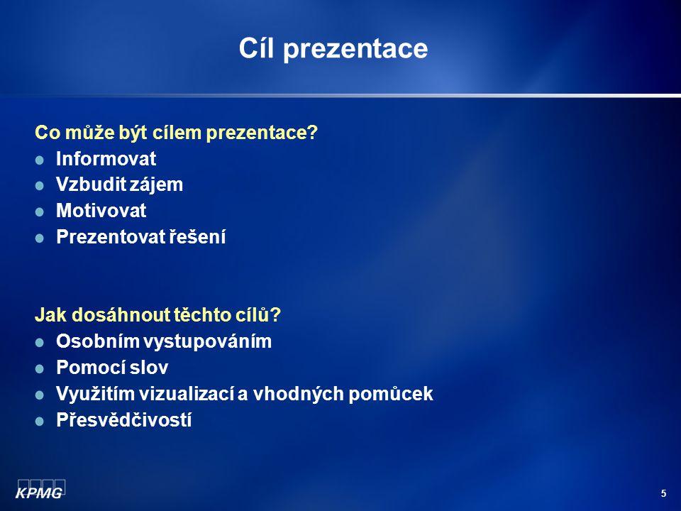 """6 Struktura prezentace Technika """"Tří T (tell, tell, tell) Úvod: řekněte, co jim řeknete."""